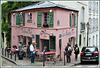 La Maison Rose à Montmartre.
