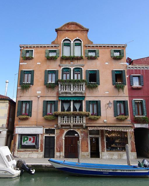 Pretty house, Murano