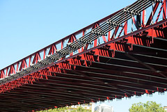 Le Pont Masaryk sur la Saône (Lyon)