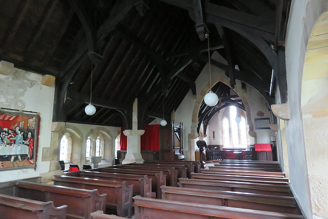 st andrew's church, blubberhouses moor, yorkshire
