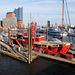 Ich sehe rot...(Feuerschiff LV 13 im Hamburger Hafen)