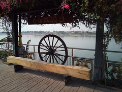Banc à roue / Wheeling bench