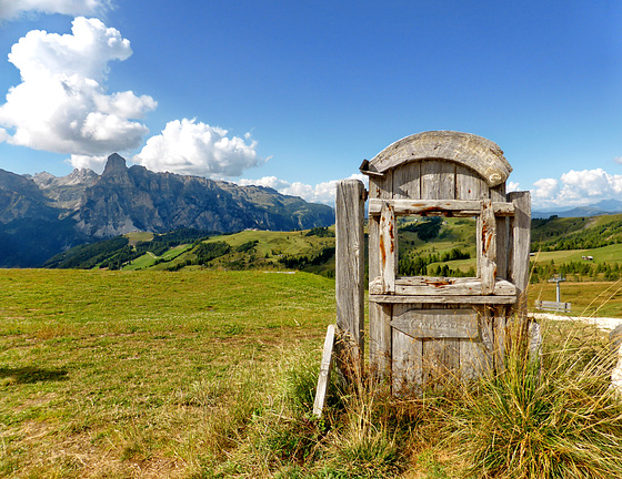 Porta del paradiso sul Col Alto