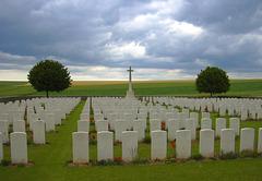 Services graveyard, France