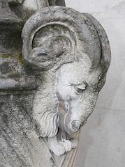 Detail of Monument near, Ferens Art Gallery, Kingston upon Hull