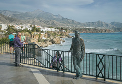 A 'HFF' .. to everyone... from 'The balcon de Europa' - Nerja'.. Spain.