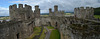Conwy Castle, East Towers and Walls