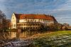 Das Schloß in Burgsteinfurt im Januar