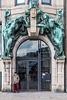 """Art Nouveau Portal """"Whispering Waves"""" /  Fiete unter flüsternden Wellen - Jugendstilportal Steinhöft 9 in Hamburg"""