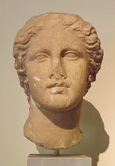 Head of Aphrodite from Kephissia in the National Archaeological Museum of Athens, May 2014