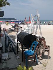 Baril de plage / Beach cask