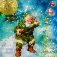 Si j'étais le Père Noël je recouvrirai la terre d'amour