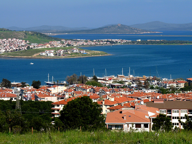 View Over Ayvalik