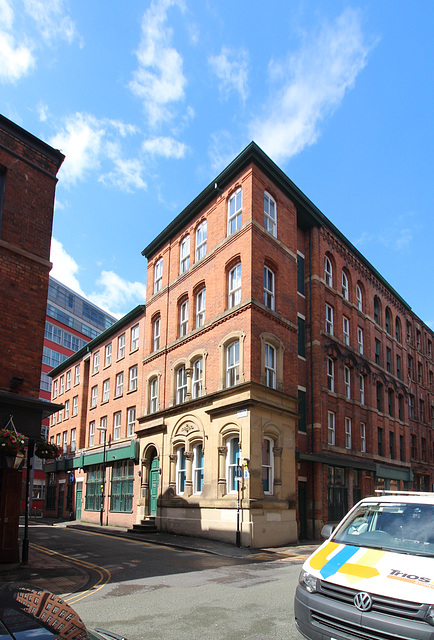 Union Street and Turner Street corner, Manchester