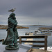 The waiting widow at Verdens ende (the end of the world)