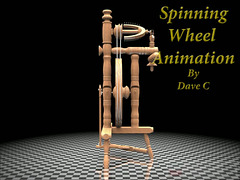 Animated Spinning Wheel