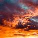 Un ciel en feu….