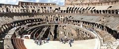 Rome - dans l'arène du Colisée