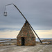 Replica of ancient lighthouse at Verdens ende