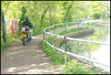 no motorbikes on canal towpath