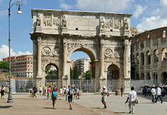 Rome - l'arc de Constantin