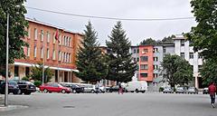 Town centre, Pukë