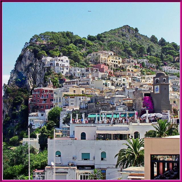 """Capri : la famosa """"Piazzetta"""" (801)"""