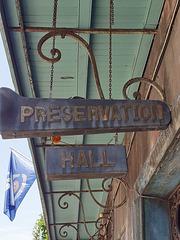 Berühmte Musikhalle im French Quarter (siehe PiP*)