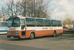 Arthur's Tours (Norwich) LMJ 786V in Bury St. Edmunds - 21 Feb 1990