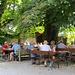 Der Biergarten in Ratzenhofen