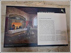Dinan (22) journées du patrimoine : intérieur du château