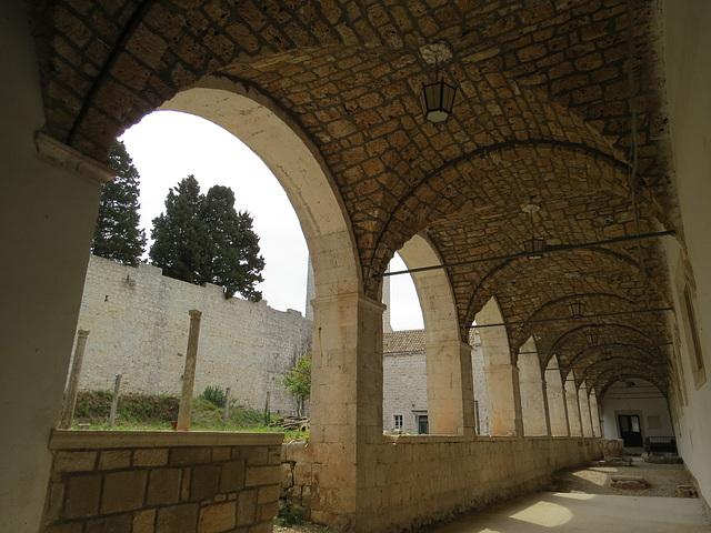Monastère Sainte-Marie, le cloître.