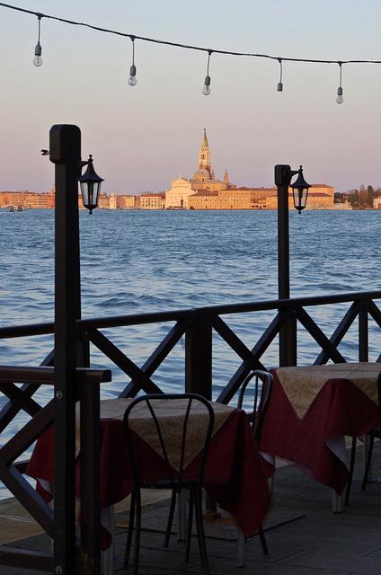 View of San Giorgio Maggiore, evening