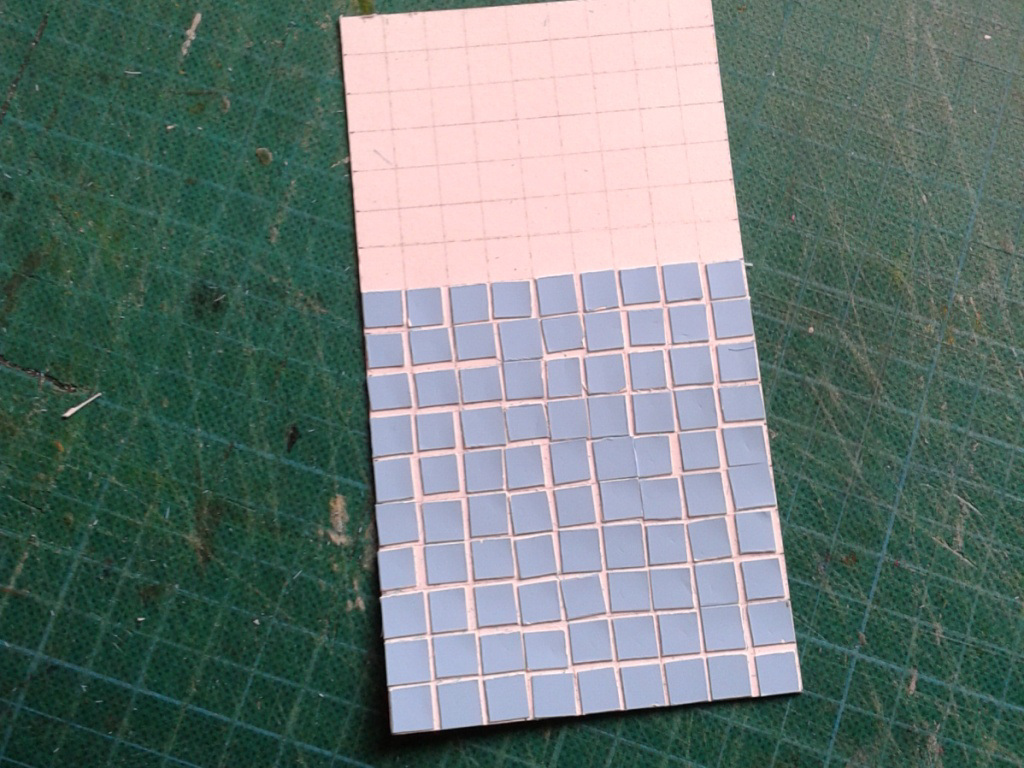 tiling first trial