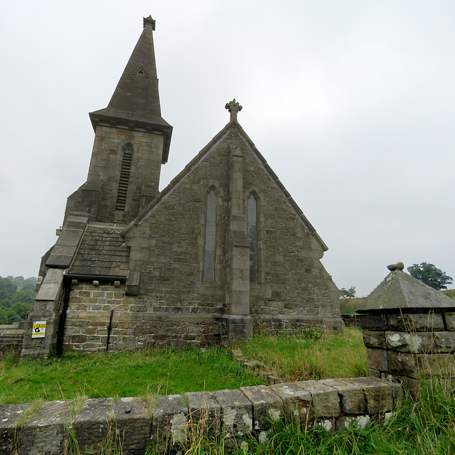 st andrew's church, blubberhouses moor, yorkshire