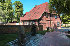 Neubukow, Schattenbank am Schliemann-Haus