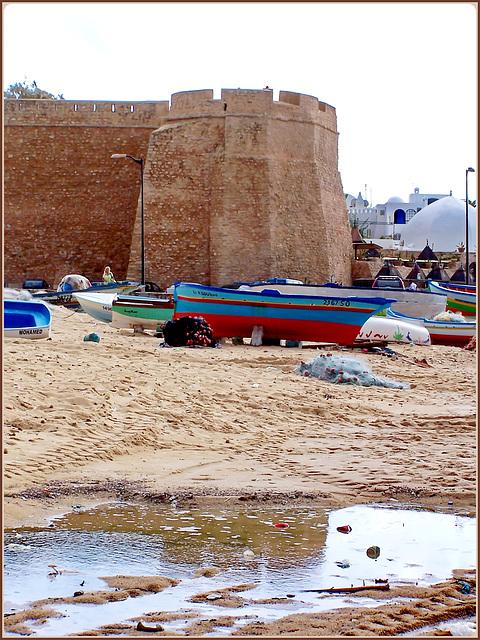 Hammamet : la Fortezza si riflette nella pozza