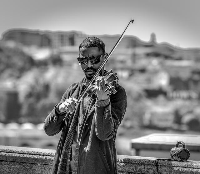 Impromptu en noir / Porto, Portugal, Avril 2019