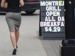Montreal Grill high-heeled Divinity.