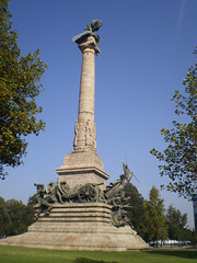 Monument to the Peninsular War.