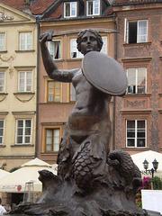 Mermaid Statue (1855).
