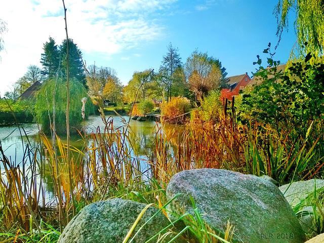 Herbst am Dorfteich