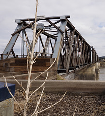 The Old Fraser River Bridge in Quesnel BC