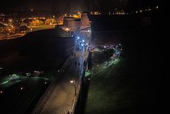 BELFORT: La porte de Brisach de nuit 02.