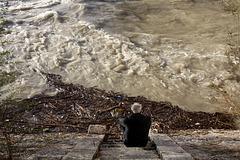 L'uomo e il fiume...