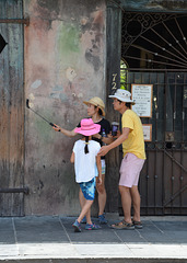 Touristen in New Orleans....