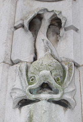 Detail of Queen Victoria Memorial, Kingston upon Hull,  by Henry Charles Fehr