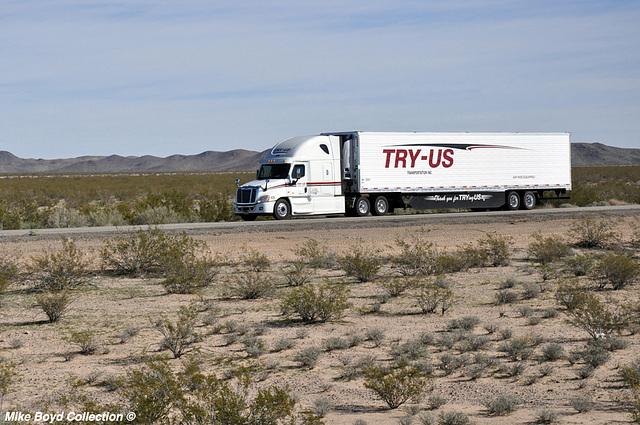 try us transportation frtlnr cascadia reefer van i40 ludlow ca 02'16