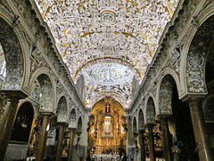 Séville / Sevilla (E) 17 juillet 2018. Eglise Santa Maria la Blanca (Quartier de Santa Cruz).