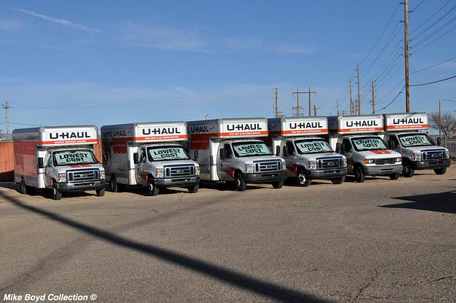 u haul ford e350 staright truck line up kingman az 02'16